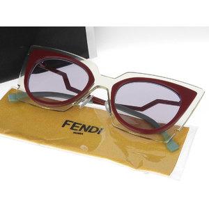 FENDI Fendi 0117 / S cat eye sunglasses eyewear red light blue 44 □ 22 140 [20190207]