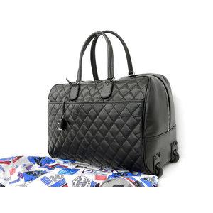 シャネル(Chanel) CHANEL シャネル マトラッセ 2way ボストンバッグ パリニューヨーク 黒 ブラック キャリー 旅行 スーツケース ハンド [20181123]