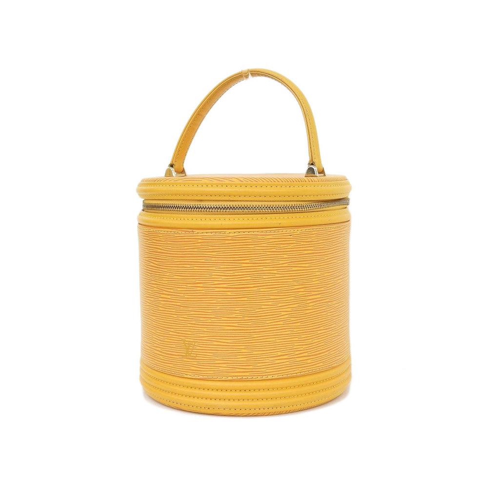 dfd206c5634b LOUIS VUITTON Louis Vuitton Rare Cannes Vanity Handbag Epi Line Yellow  Tassiri M48039  20190124