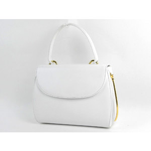 GUCCI Gucci Old Handbag Vintage Leather White [20190130]
