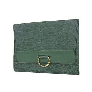 ルイ・ヴィトン(Louis Vuitton) LOUIS VUITTON ルイヴィトン イエナ クラッチバッグ エピ 緑 ボルネオグリーン ヴィンテージ セカンド 書類カバン M52724 [20190125]