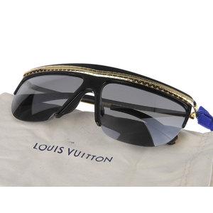 LOUIS VUITTON Louis Vuitton Easy Rider Sunglasses Eyewear Monogram Black Gold Z0952E [20190123]