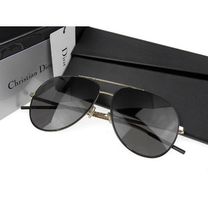 Christian Dior DIOR ASTRA Teardrop Sunglasses 2M2IR Black Gold [20190130]