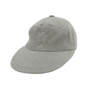 エルメス(Hermes) MOTSCH HERMES モッチ エルメス カシミヤ100% キャップ 帽子 灰色 グレー size57 カシミア [20190207]