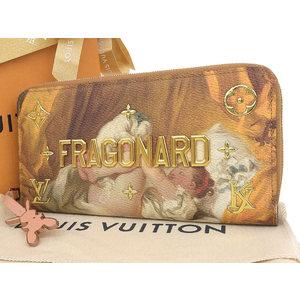 ルイ・ヴィトン(Louis Vuitton) LOUIS VUITTON ルイヴィトン マスターコレクション ジッピーウォレット フラゴナール ラウンドファスナー長財布 M64605 [20190208]