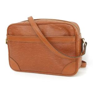 a831772d034c LOUIS VUITTON Louis Vuitton Trocadero Shoulder Bag Epi Line Tea Kenya Brown  M52313 No Batter