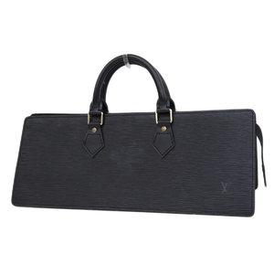 ルイ・ヴィトン(Louis Vuitton) LOUIS VUITTON ルイヴィトン サックトリアングル ハンドバッグ エピライン 黒 ノワール ブラック M52092 [20190208]