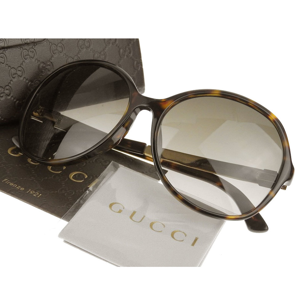 8a1a471f44be GUCCI Gucci Sherry Line Asian Fit Sunglasses Eyewear Brown Gold GG 3796 / F  S ANTHA [