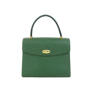 ルイ・ヴィトン(Louis Vuitton) LOUIS VUITTON ルイヴィトン マルゼルブ ハンドバッグ エピライン 緑 ボルネオグリーン M52374 [20181208]