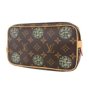 LOUIS VUITTON Louis Vuitton Monogram Christopher Nemes Pochette Volga Second Bag Clutch M61323 [20190215]