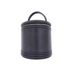 ルイ・ヴィトン(Louis Vuitton) LOUIS VUITTON ルイヴィトン カンヌ ハンドバッグ バニティ エピライン 黒 ノワール ブラック M48032 [20181220]