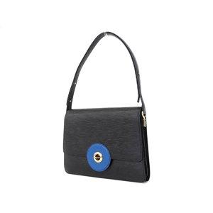 ルイ・ヴィトン(Louis Vuitton) LOUIS VUITTON ルイヴィトン フリーラン ショルダーバッグ エピライン 黒 ノワール 青 ブルー M52415 [20190213]