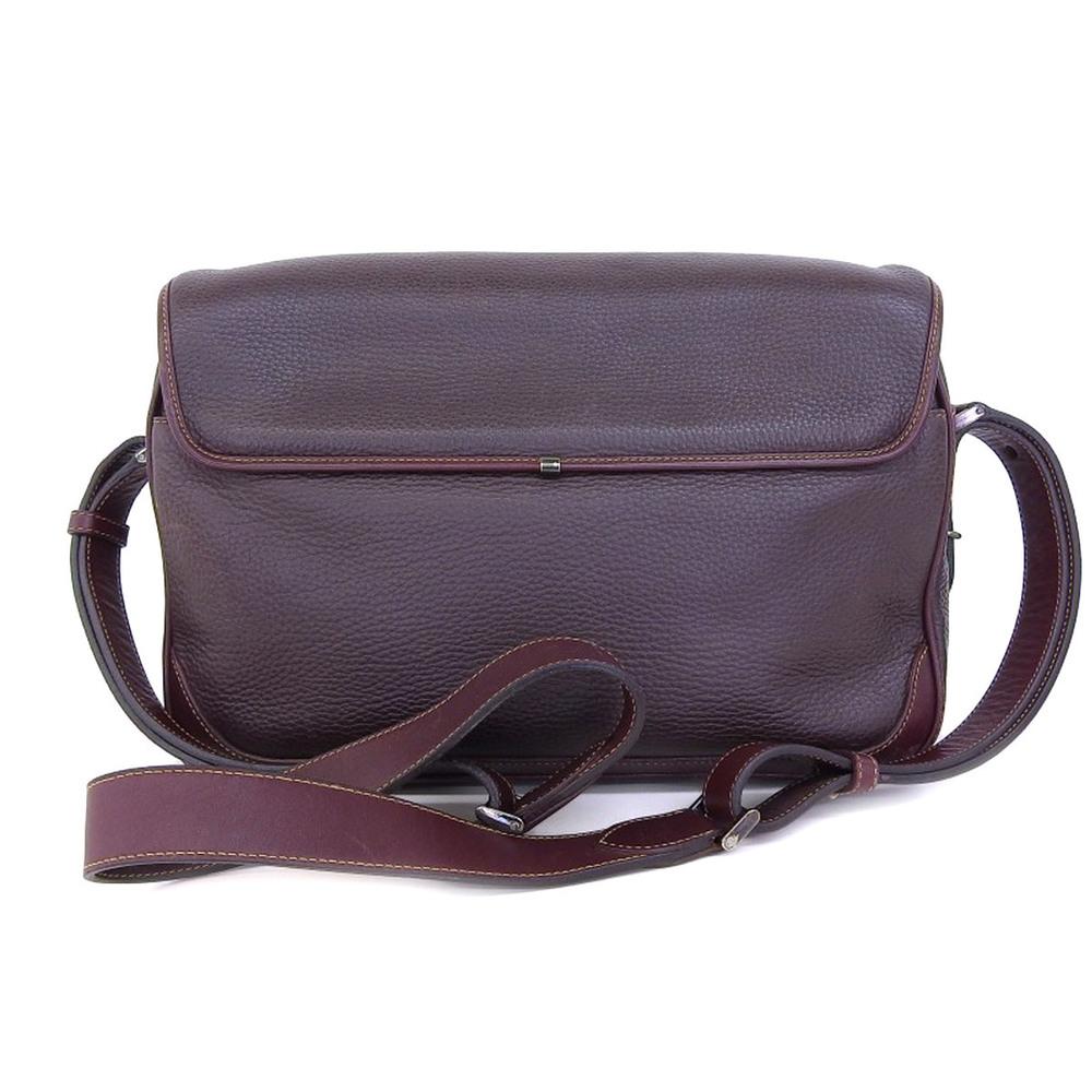 d9806333ddbce9 GUCCI Gucci Old Shoulder Bag Vintage Brown Messenger Horseshoe ...
