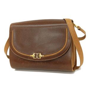 GUCCI Gucci Old Shoulder Bag Vintage Horsebit Brown [20170225]