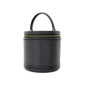 ルイ・ヴィトン(Louis Vuitton) LOUIS VUITTON ルイヴィトン エピライン カンヌ バニティバッグ ハンドバッグ 黒 ノワール M48032 [20181228]