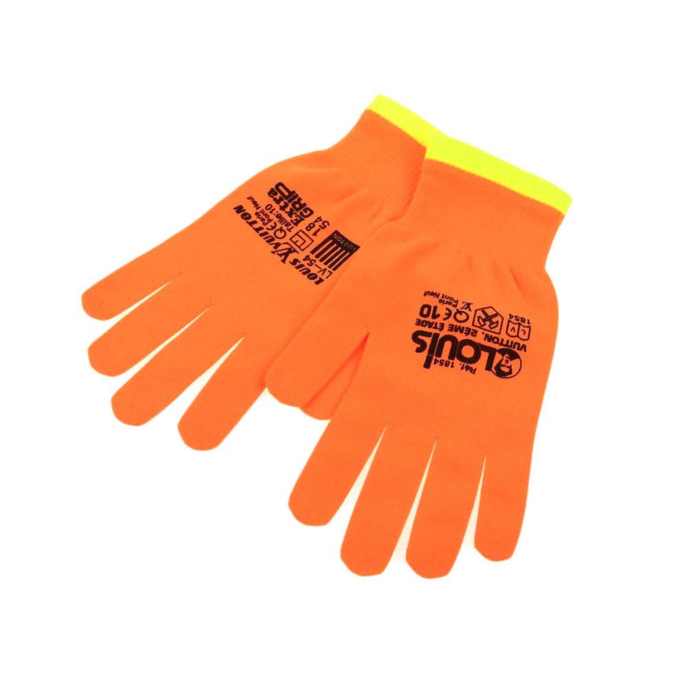 LOUIS VUITTON Louis Vuitton 19SS Japan Limited Color Virgil Avro Gloves Glove Orange Yellow [20190215]