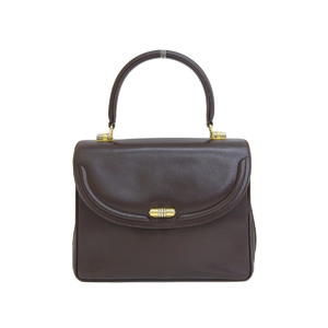 GUCCI Gucci Old Handbag Vintage Leather Brown [20190220]