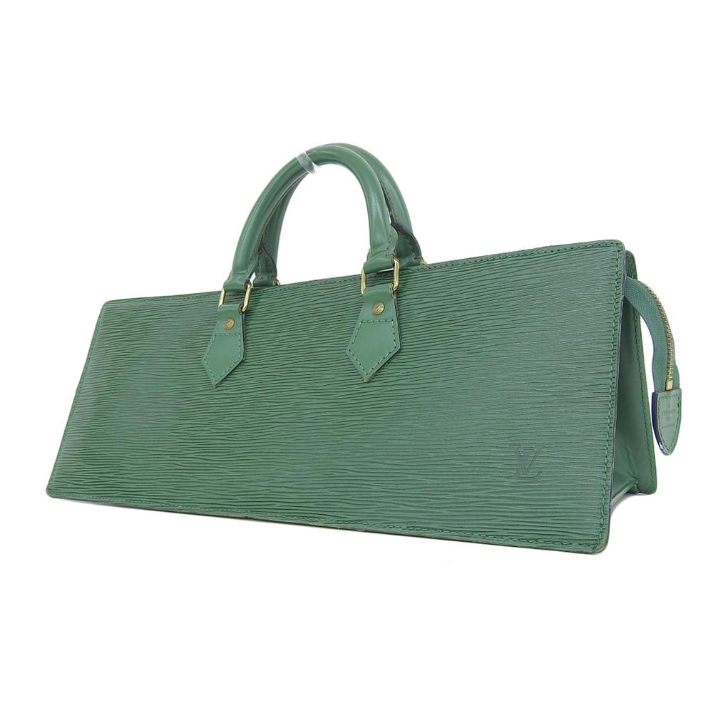 078049858b98 LOUIS VUITTON Louis Vuitton Sac Triangular Handbag Epiline Green Borneo  Triangle M52094  20181220