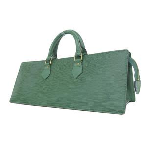 ルイ・ヴィトン(Louis Vuitton) LOUIS VUITTON ルイヴィトン サック トリアングル ハンドバッグ エピライン 緑 ボルネオグリーン トライアングル M52094 [20181220]