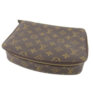 LOUIS VUITTON Louis Vuitton Monogram Monte Carlo Jewelry Case Accessory Pouch