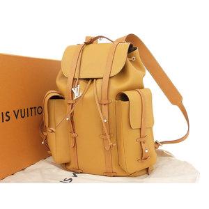 ルイ・ヴィトン(Louis Vuitton) LOUIS VUITTON ルイヴィトン 19SS クリストファーGM リュックサック バックパック ヌメ革 M53270 ヴァージルアブロー中古  [20190227]