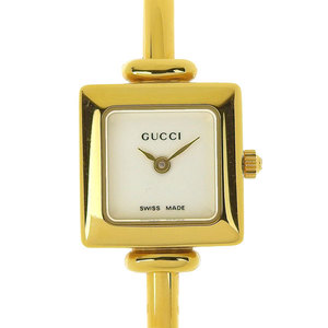GUCCI Gucci Ladies Quartz Watch Bangle Gold 1900 L