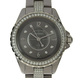CHANEL J12 Chromatic Diamond Ladies Quartz Watch H3105