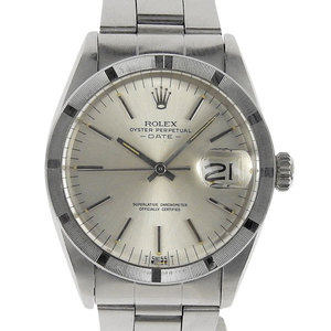 ROLEX DATE Automatic Mens Watch Silver Dial 1501