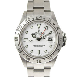 ROLEX Rolex Explorer 2 White Mens Automatic Watch F-number 16570