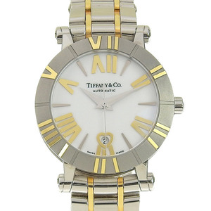 TIFFANY & Co. Tiffany Atlas Automatic Ladies Watch Dial White Z1300.68.16A20A00A