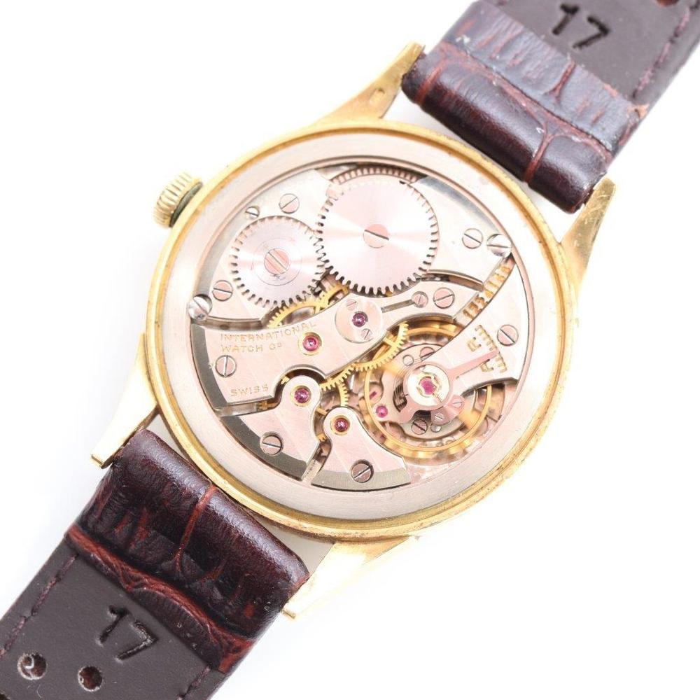 IWC シャフハウゼン 手巻き K18イエローゴールド(K18YG) ユニセックス 高級時計