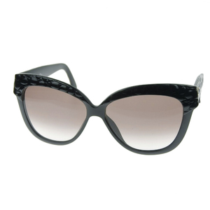 Christian Dior 90's Vintage GERMANY Cat's Eye Lens Butterfly Sunglasses CD Logo Black