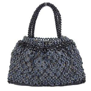 Anteprima ANTEPRIMA rare beads × cube wire bag