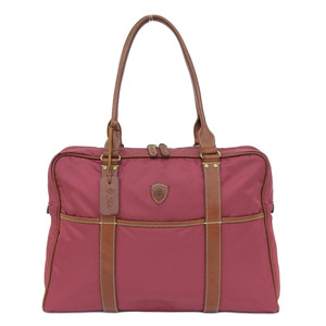 Felici Felisi 1730 Business Tote Briefcase Price 70,000 Yen Dark Pink Shoulder Bag