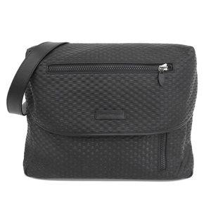 Emporio Armani 2014 Products 3D embossed leather Messenger bag Shoulder Black