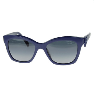 Chanel CHANEL 2015 product Polarized lens sunglasses 5313A Women's Blue 56 □ 18 140