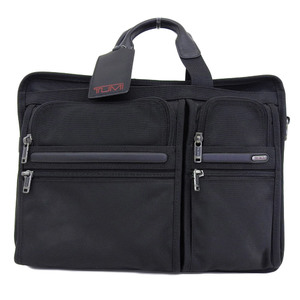 Tumi TUMI Large Expandable Computer Briefcase Business Bag Black 26160
