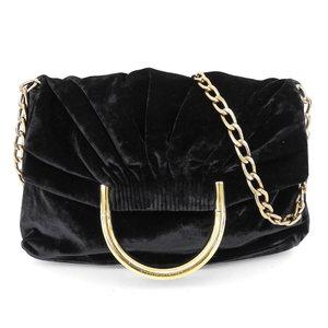 Stella McCartney 2016 Product Silk Shoulder MIX FLUID VELVET 445862 Chain Bag Velor