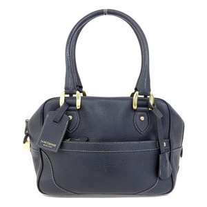 J&M Davidson JM Davidson J & M MINI MIA Leather Shoulder Bag Mini Mia Navy