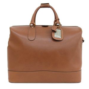 Gucci GUCCI 70's Italian vintage leather Pigskin Large travel bag Boston Old