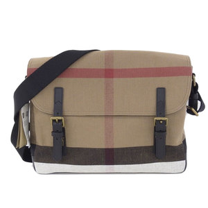 Burberry Tagged Japan Not Available LG BAILDON LARGE CAMERA BAG House Check Canvas Shoulder Bag Large New