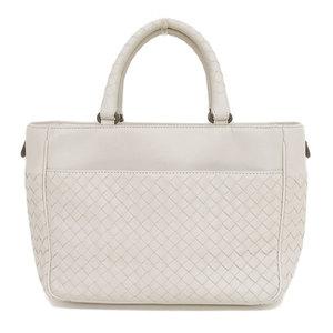 Bottega Veneta BOTTEGA VENETA Intrechart 2WAY bag Japan limited Leather Ivory * BG