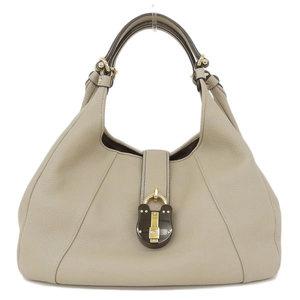 Loewe LOEWE Leather handbag Beige * BG
