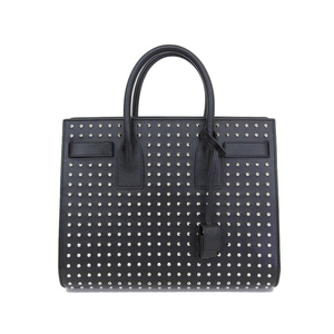 Saint-Laurent SAINT LAURENT PARIS Sac De Jules Studs 2WAY Bag Leather Black 355154 * BG