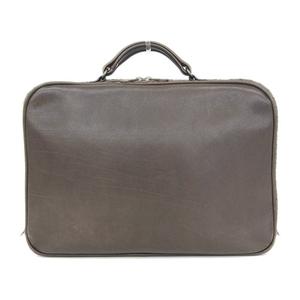 Bottega Veneta BOTTEGA VENETA Leather Briefcase Business Bag Brown * BG