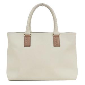 Bottega Veneta PVC Tote Bag White Ivory * BG