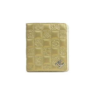 CHANEL Chanel leather wallet * WL