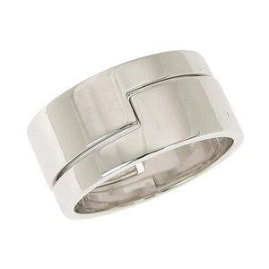 Gucci GUCCI K18WG Separate Layered Ring No. 19 * JL