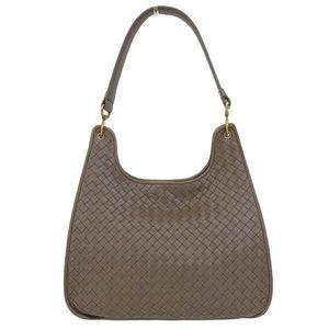 Bottega Veneta Intrecciato One-shoulder bag Brown Ladies * BG