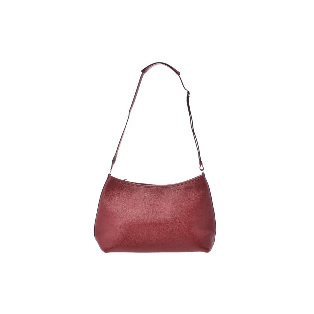 HERMES Berlango 30 Rouge Ash SV Bracket □ E-engraved Ladies Buffel Skipper Shoulder Bag A Rank Beauty Product